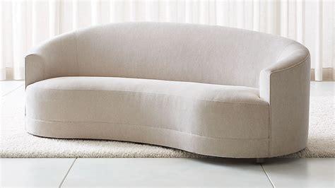 infiniti curve back sofa reviews crate and barrel