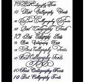 Calligraphy Fonts Classic Tattoo Fontsjpg