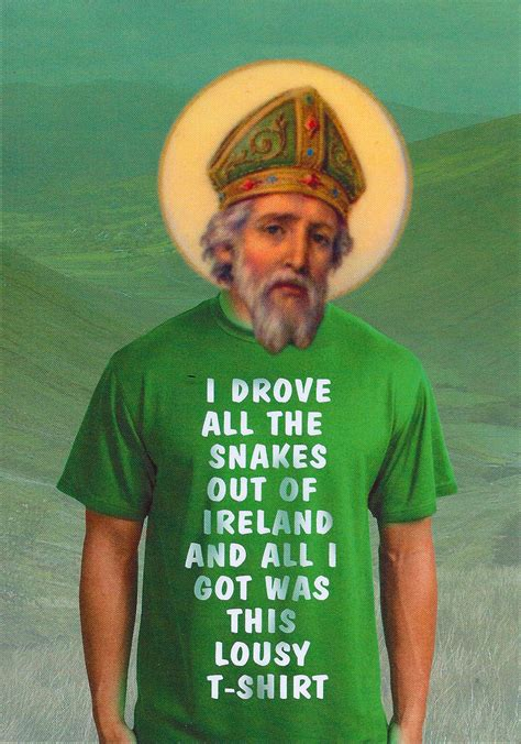 St Patrick S Meme - why i honor saint patrick health stew boston com