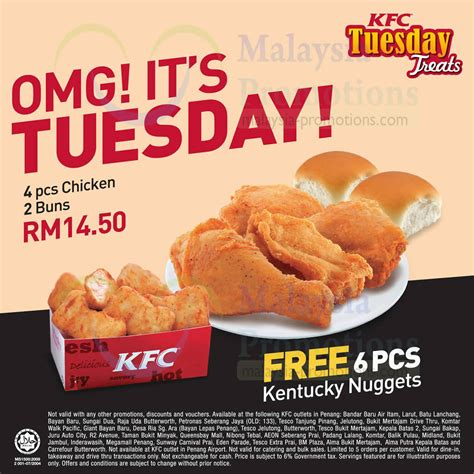 Kfc S Day Special Kfc Penang 29 Oct 2013 187 Kfc One Day Tuesday Combo Meal