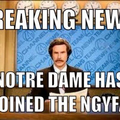 Notre Dame Football Memes - notre dame football memes 28 images image gallery