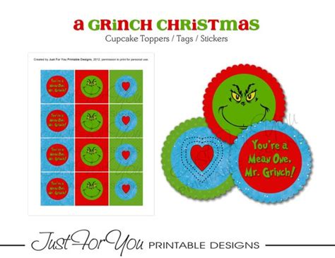 printable grinch gift tags 7 best images of grinch pills printable tags grinch