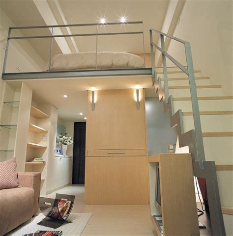 mezzanine bed small space design a 498 square feet house in taiwan