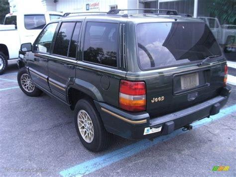 1995 emerald green pearl jeep grand limited 52598667 photo 3 gtcarlot car