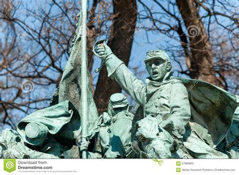 Washington Dc Civil War Cavalry Statue Near The Ulysses S Grant Memorial In Front O Civil War Memorial Statue In Washington Dc Editorial Stock Photo Image 57886863