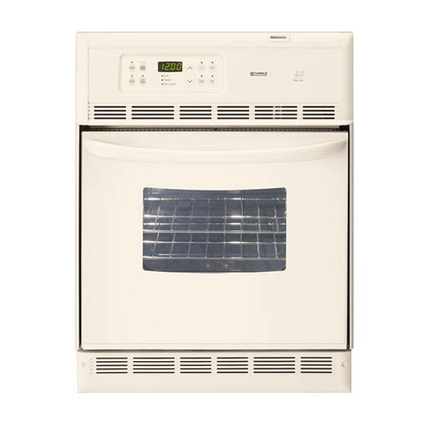 When Self Cleaning Oven Remove Racks by Kenmore Electric Single Wall Oven 24 In 40454 Sears