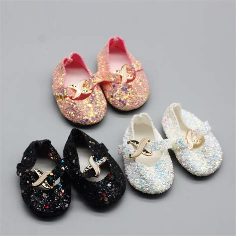 accesorize slippers 1pair shining shoes for 18 quot inch american doll boots
