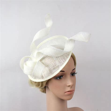 Vintage Wedding Hair Fascinators by Popular Fascinator White Buy Cheap Fascinator White Lots