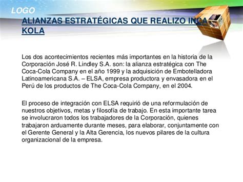 cadena de valor de inka kola inca kola