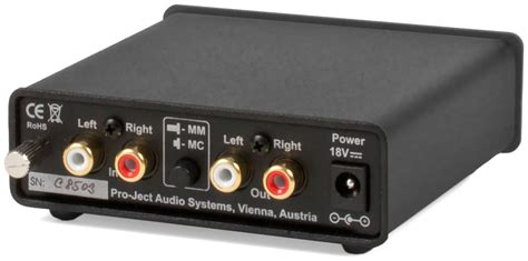 phono eingang mm pro ject audio systems