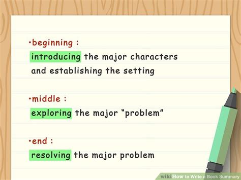 steps to writing a book report how to write a book summary with sle summaries wikihow