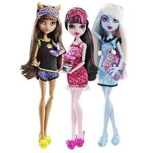 18 Doll Beds Monster High Dead Tired Dolls Wave 1 Case Mattel