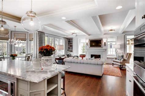 soggiorni open space cucina e salotto open space idee per il design della casa
