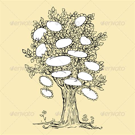 decorative family tree templates 187 tinkytyler org stock