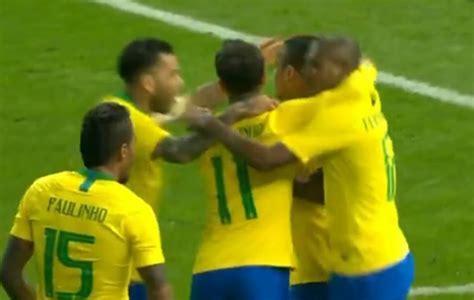 hängematte brasil alemanha x brasil assista ao gol marcado por gabriel jesus