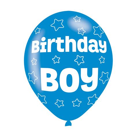 Birthday Boy birthday boy blue balloons 11 quot 27 5cm 10pkg 6