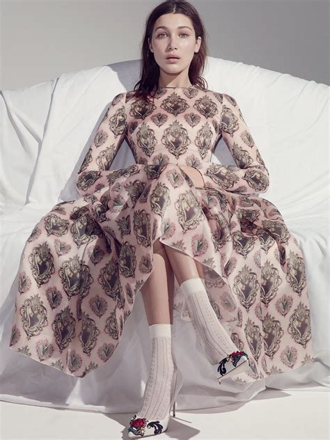 Is In Fashion Editorials Fashionable by Editorial Fashion Hadid By Robbie Fimmano For