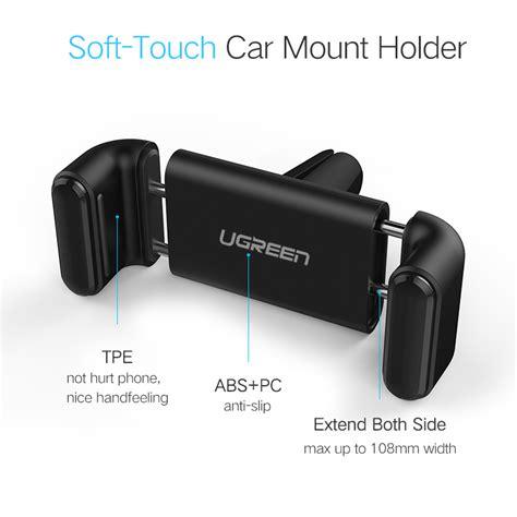 360 Degree C Air Vent Mount Car Holder Diskon מוצר ugreen car phone holder for iphone 8 x air vent mount car holder 360 degree mobile phone