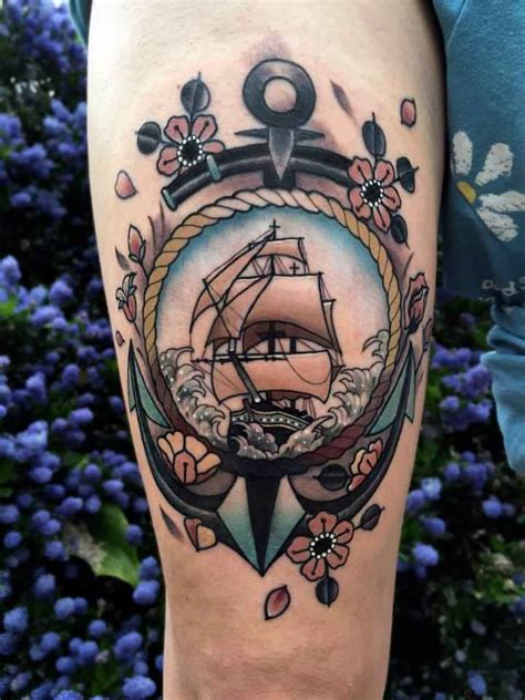 tattoo old school barco tatuajes de barcos