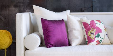 pictures of pillows on sofas throw pillows 4 tips to style your sofa huffpost