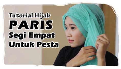 tutorial hijab paris pesta bisikan com turban hijab tutorial untuk pesta