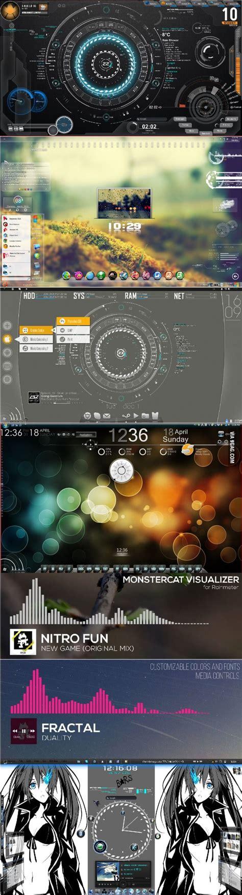 Detox Rainmeter by 7 Best Desktop Images On Desk Desktop And