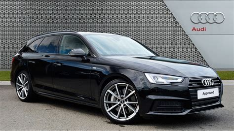 Business Paket Audi A4 by Audi A4 Avant Tdi Quattro S Line Black 2017