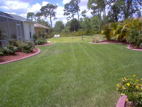 nice backyard lawn service photos punta gorda deep creek port