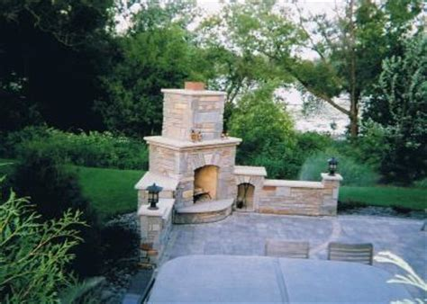 Foundation For Outdoor Fireplace by The Brick Artist Llc Minneapolis Mn