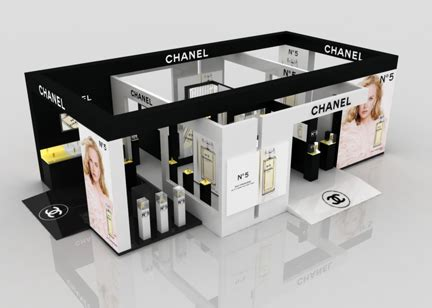 Chanel Stand exhibition designs by yahkoob valappil at coroflot