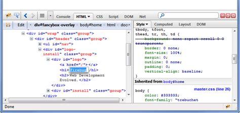 tutorial debug javascript with firebug firebug add ons for firefox