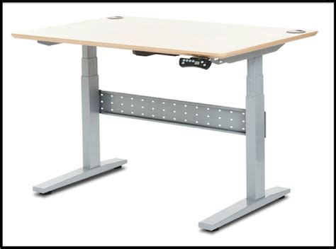 adjustable height stand up desk geekdesk adjustable height stand up desk review