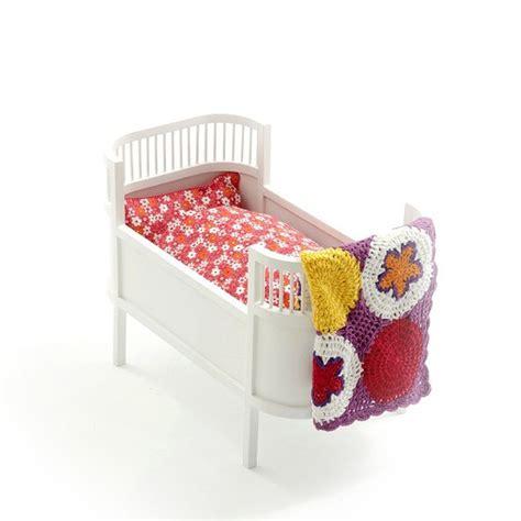 cot bedding leo bella smallstuff rosaline wooden doll bed cot white