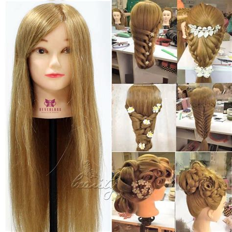 hairstyles done on a mannequin with green hair online kopen wholesale pop hoofd voor haar uit china pop