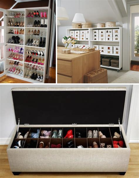 hometalk shoe organizing ideas