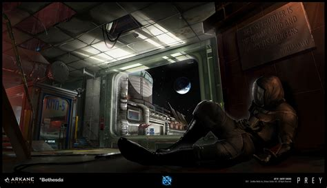 games blog what is concept art prey 2017 video game concept art by dmitry sorokin