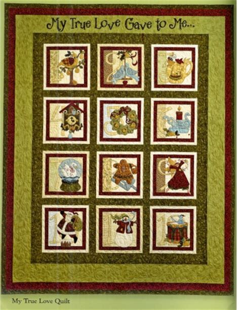 12 Days Of Quilt Pattern by 12 Days Of Quilt Book By To Ebay