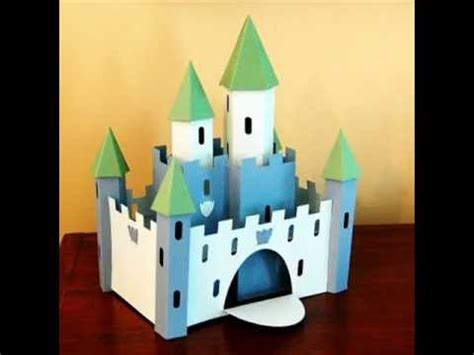 How To Make A Paper Castle Easy - origami castle tribute