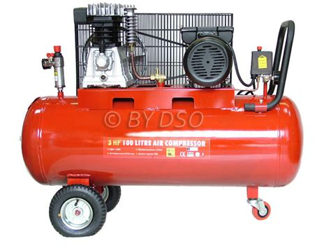 3 hp 100 litre belt driven air compressor 1620era ebay