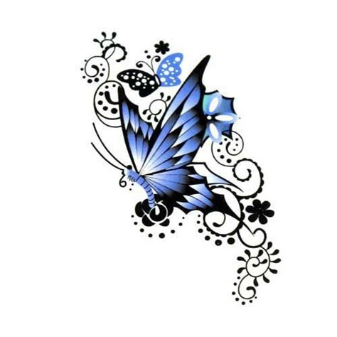 blue butterfly tattoo designs best 25 blue butterfly ideas on