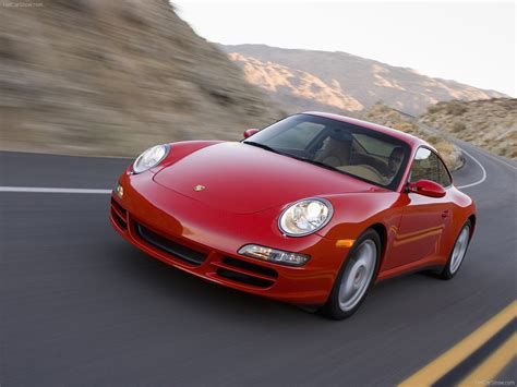 red porsche 911 2007 red porsche 911 carrera 4 wallpapers