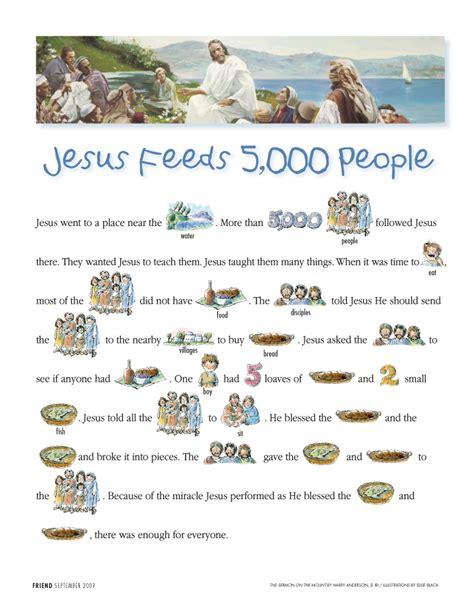jesus feeds the five thousand