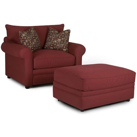 comfy chair with ottoman klaussner comfy casual chair and ottoman pilgrim