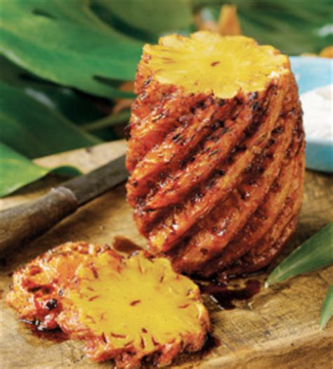 Grilled Whole Pineapple