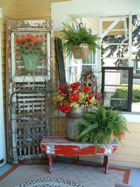 stunning country front porch spring decorating ideas