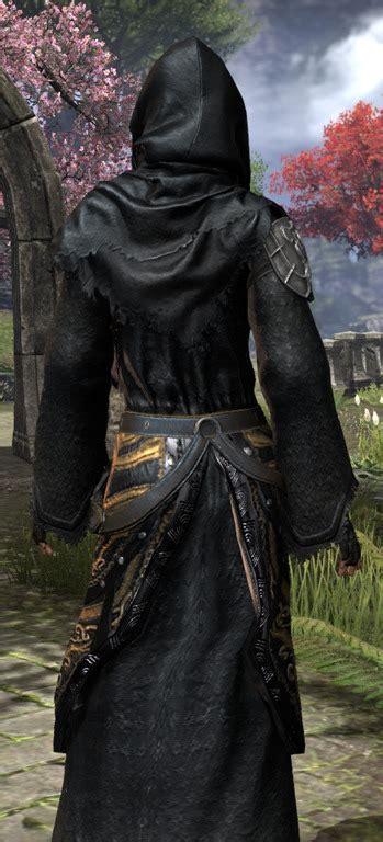 elder scrolls  black hand robe eso fashion