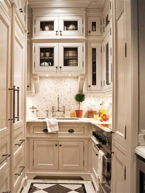 kitchen cabinet ideas small spaces 38 cool space saving small kitchen design ideas amazing