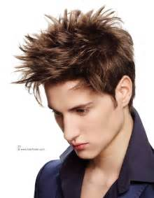 spikey look haircuts spiked hairstyle and criss cross hair styling for men