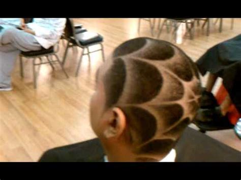 haircut designs spider web the joe barber spider web youtube