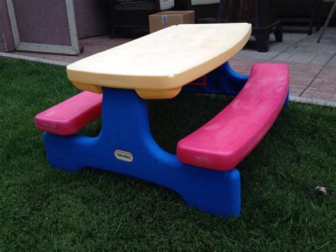 tikes picnic table tikes folding picnic table